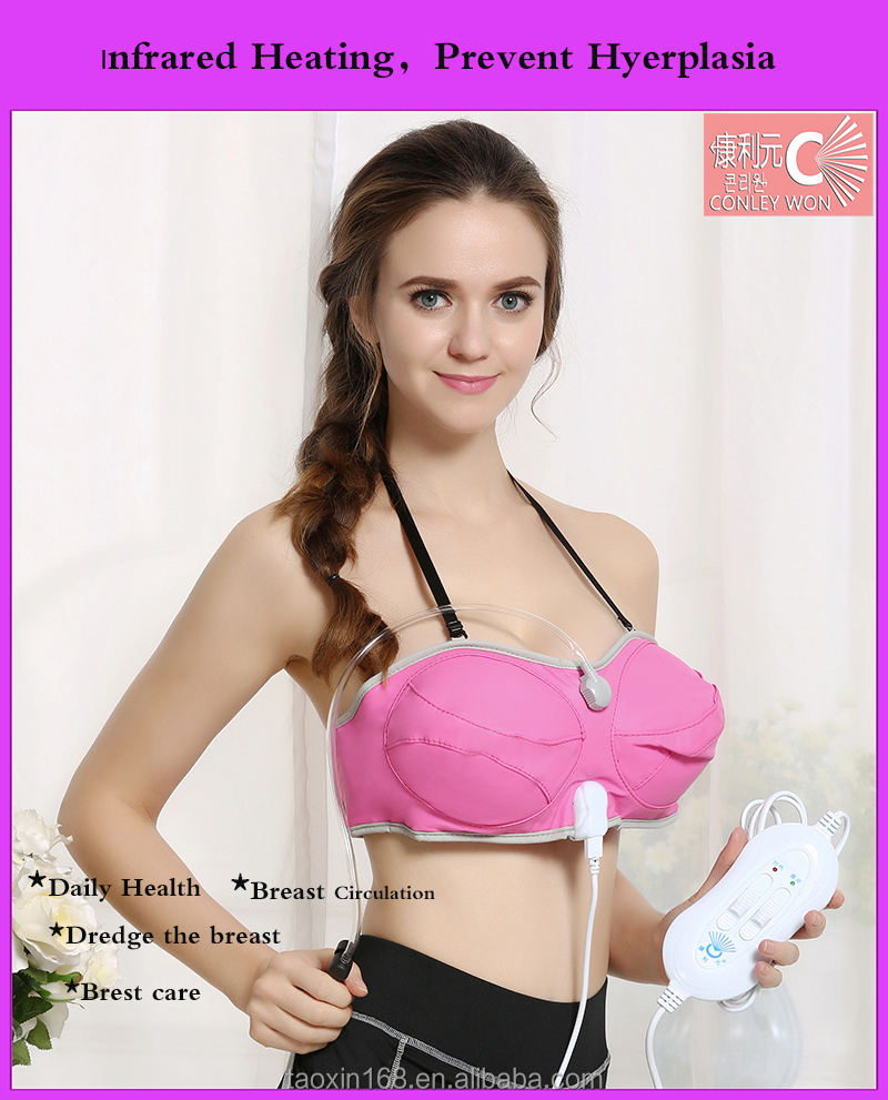 Hot sexy air pressure bra massager for breast enlargement