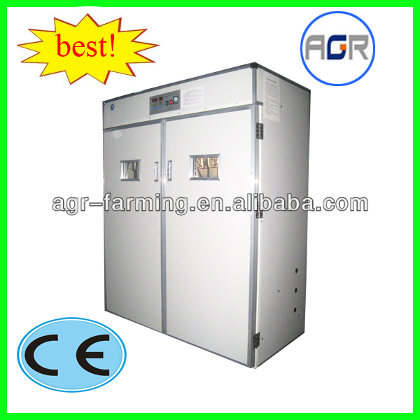 poultry farm used automatic 96pcs ostrich egg incubator