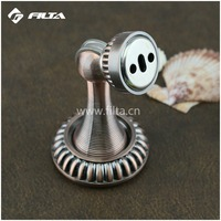 Delicate classical muti color available zinc alloy magnetic glass door stopper