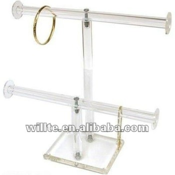 acrylic bracelet display stand holder/acrylic bracelet rack/ organizer