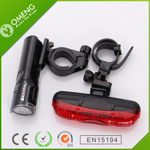 2016 Wholesale Raypal Bike Led Light Front And Tail Bicycle Light Sets