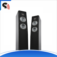 2016 One Pair 6.5'' 2-Way High-end Audio Groundstangding Professional Sound Box Hi-Def Floorstanding Speaker