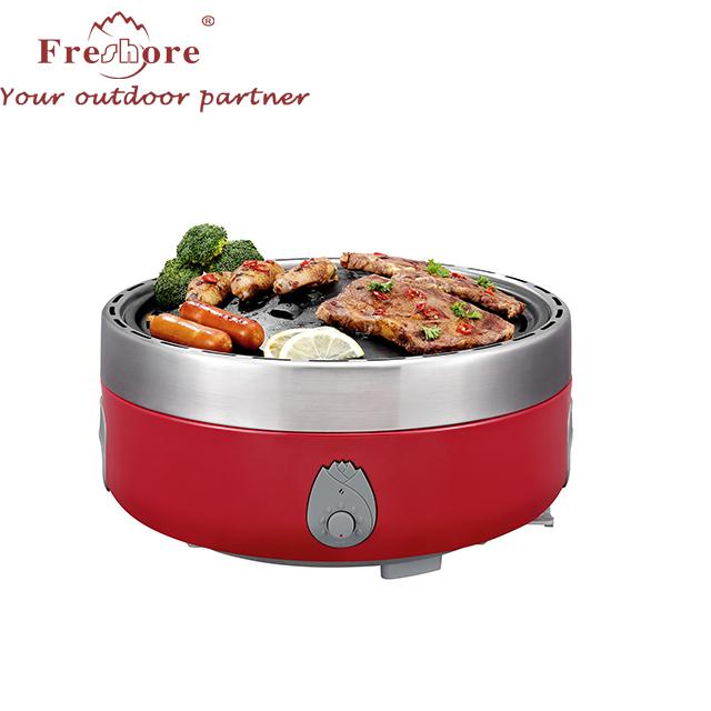 Energy saving smokeless picnic camping charcoal grill