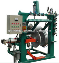 Inflatable tyre buffing/polishing/grinding machine