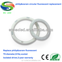 18W T9 g10q base smd led ring tube light