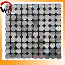 2015 new sequin wall panel plastic sign board