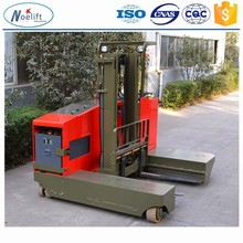 stacker electric CE &ISO carretilla elevadora1.5 to 2.5t side load electric reach stacker , 1.5t, 2t forklift truck price