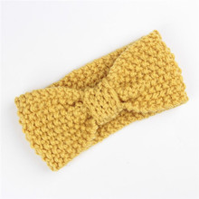 Multicolored Baby Knotted Winter Headband Knitted Handbands in Hairbands