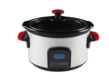 5.5L electric magic slow cooker with glass lid XJ-13220A