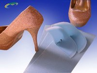 toe puff and counter for high heel shoes making