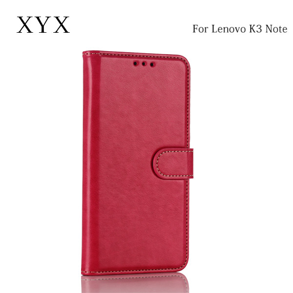 wallet style new products 2016 innovative product custom embossed print logo for lenovo k3 note mobile phone case