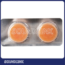 Hearing aids dehumidifier pills for drying ear molds and hearing aids