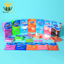 Various type Natural Latex Sex Male Condoms