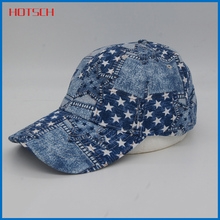 bright colored famous baseball caps with star for youth