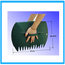 Plastic Leaves Grabber ,Grass raking leaves rake Leaf rake,