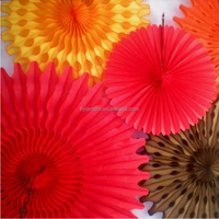 factory direct sale paper honeycomb ball paper flower wedding decoration honeycomb lantern snow paper fan