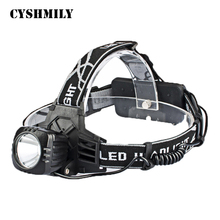 CYSHMILY Military Tactical Camping Riding Fishing Highlight Waterproof Self Defense Led Headlamp For Hunting