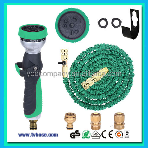 Latest design brass fitting expanding flexiable garden hose as seen on tv