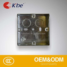 Made in China Iron boxes for switch,, flush mounting electrical box