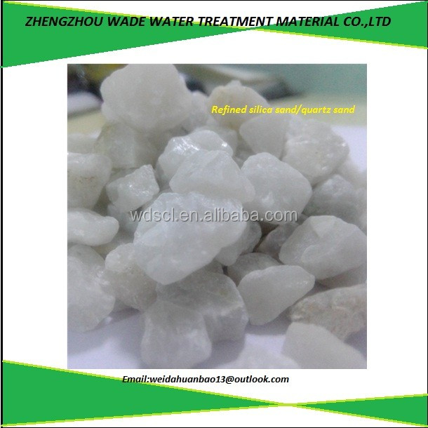 Advanced high performance low price raw material quartz silica sand