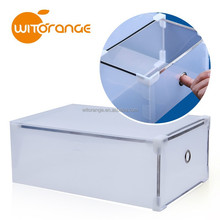 New Design Metal Edge Storage Box for Shoes