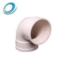UPVC drainage pipe fittings 90 degree elbow made in China