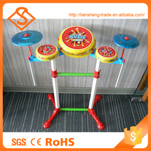 Preschool educational popular drum set kids toys musical