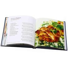 Useful MOQ 100pcs full color hardcover cooking book printing