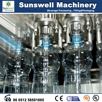 Full automatic small factory mineral water production line