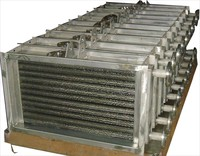 Copper pipe oil cooler radiator for flat screen printing machine