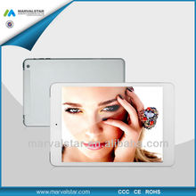Dedicate Design Beautiful 7.85 Inch Phablet PC MTK6589 Quad Core 1024x768 IPS Panel 7.8mm Thickness