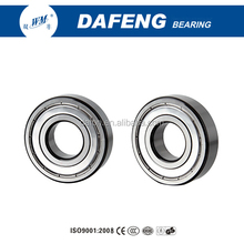 HUABIAO W&M brand Zhejiang manufacturer OEM best sale2RS 2RZ ZZ open single row ball bearing