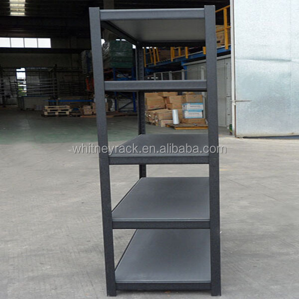 Max 1000lbs/level store shelving wood black broad shelving office shelves for goods storage