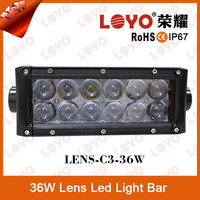 "CE RoHs IP67 36W 7.5"" LED Light Bar Spot Flood Combo 2 Row Offroad LED Lighting Bar"