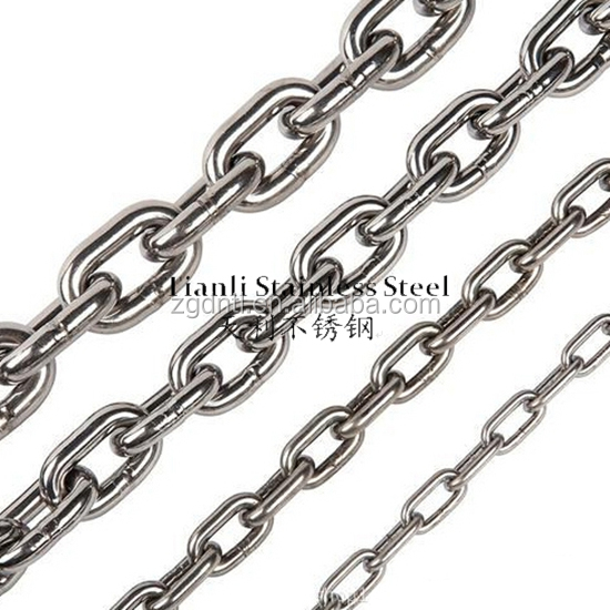 304 316 Stainless steel link chain in Australian standard, short link chain