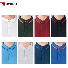 Custom Men Breathable Colour Block Panel Slim Fit Sports Polo Shirt