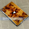wood grain triangle design for ipad mini case