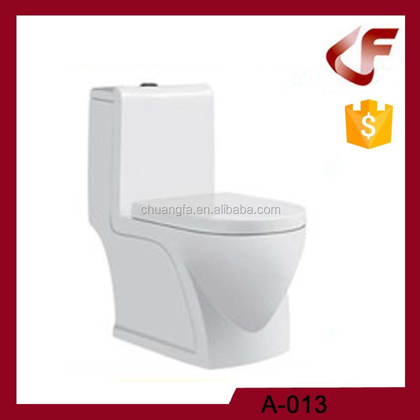 Chaozhou factory one piece shower toilet