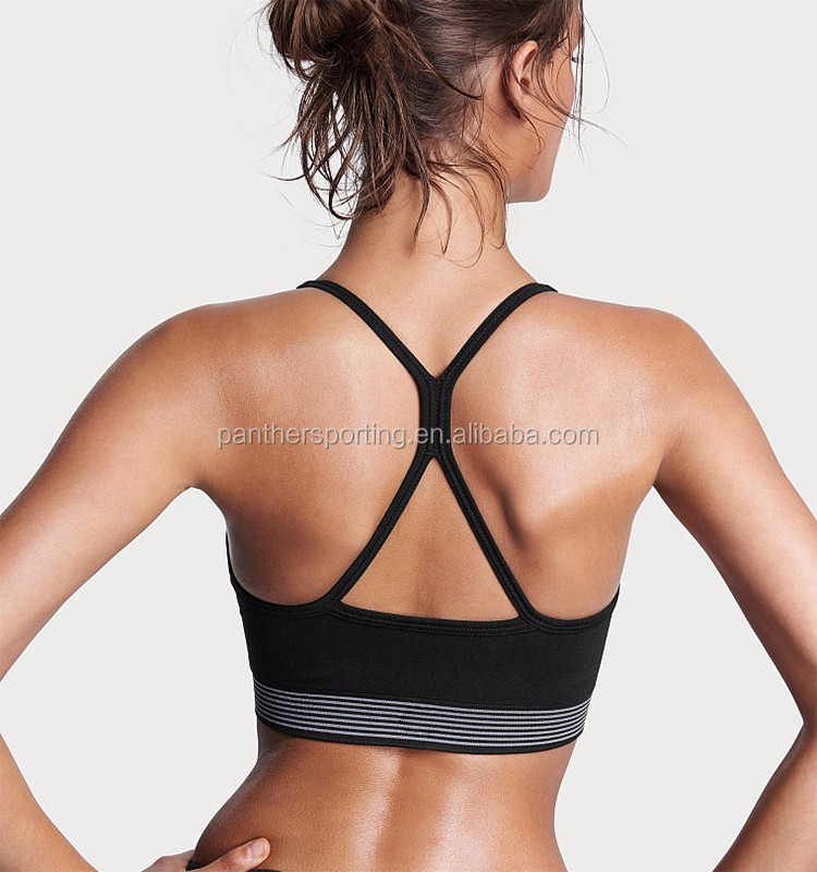 Factory Custom Price Seamless Genie Hot Sexy Women Sports Bra