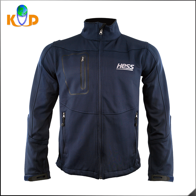 Professional Production Team Jacket Designs Outdoor 100% Polyester / Fleece Coat Jacket Men