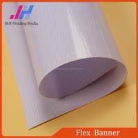 Digital PVC Reflective Flex Banner Material White Premium Backlit Flex Banner Glue