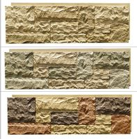 Interior& exterior faux wall stone panel for wall cladding