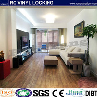 Best price click plastic pvc flooring