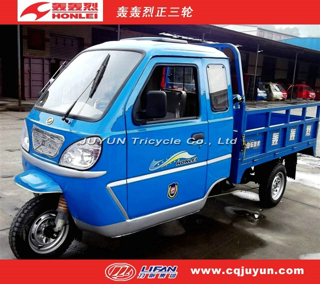 Cabin Tricycle with Simple Shed/Three Wheel motorcycle made in China HL250ZH-3B2