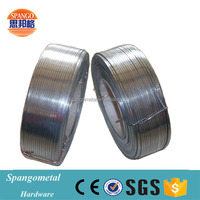 Galvanized steel wire low carbon flat armoring cable wire manufacturer