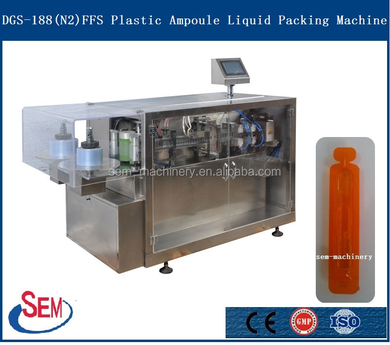 Blow Fill Seal Liquid Blister Packing Machinery Factory