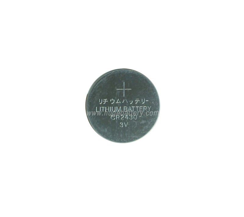 Best price 3.0V lithium CR2430 Button Cell