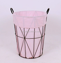 Metal Wire Laundry Hamper Basket