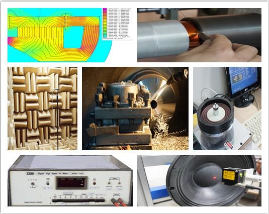 12 дюймов midbass колонки/профессиональное аудио колонки/нч-динамик