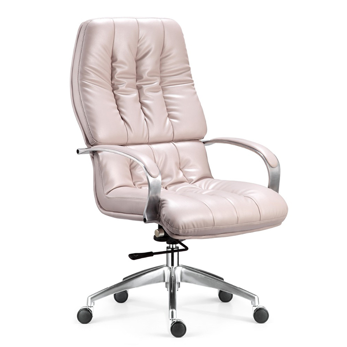 White president furniture high back executive office chair